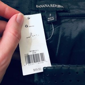 Banana Republic Shorts - NWT Banana Republic   Pleather Black